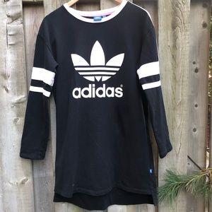 Adidas Trefoil Logo Cotton Dress